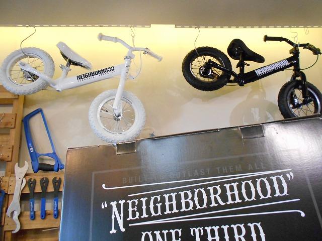 NEIGHBORHOOD (ネイバーフッド)のキックバイク入荷しました!