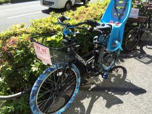 カスタマイズ電動アシスト自転車01