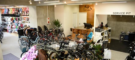 サイクルショップオギヤマ大井町店