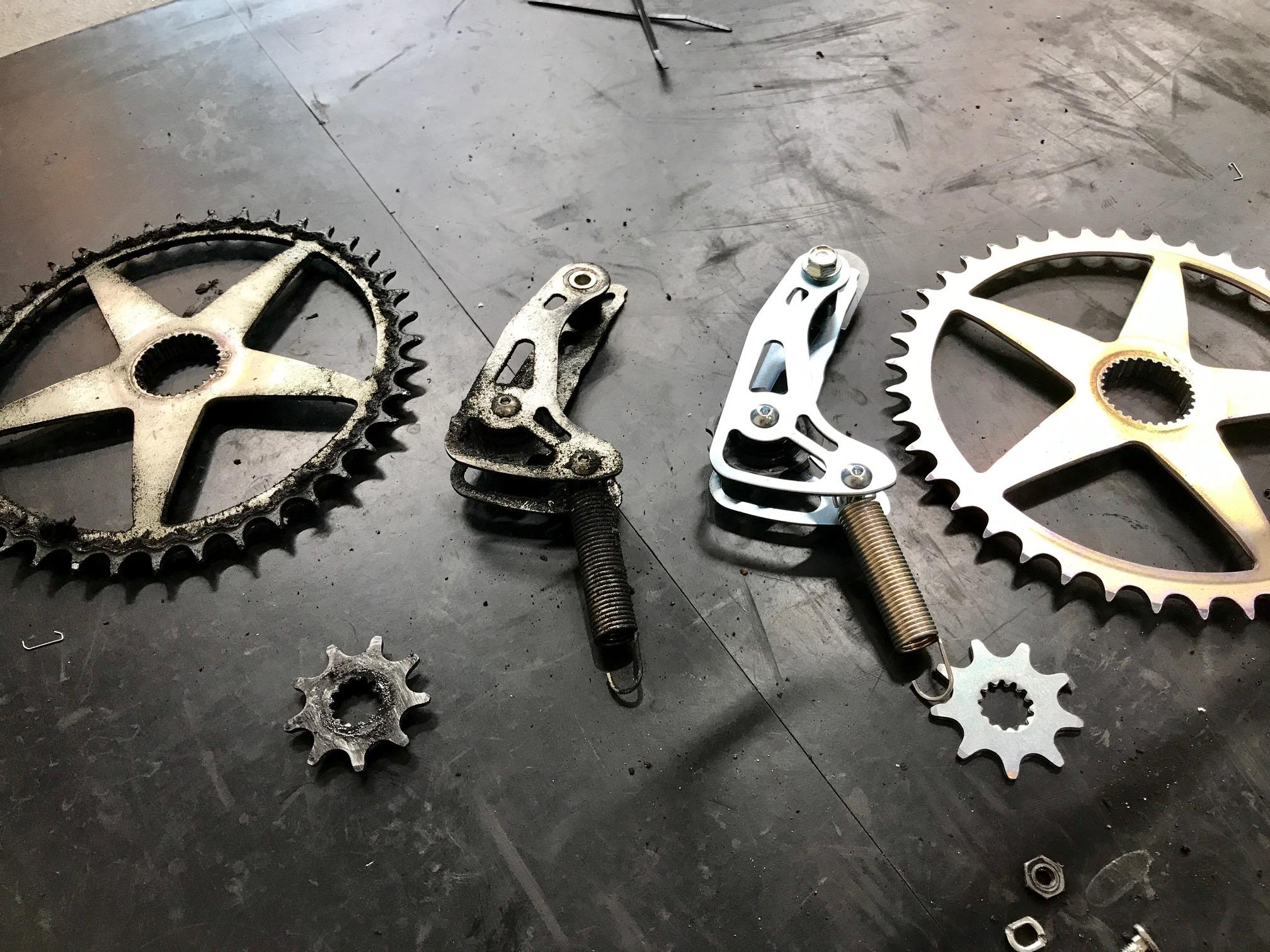 電動自転車の修理で多いのは・・・