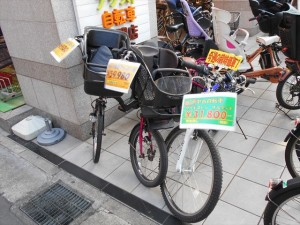 店頭中古自転車02