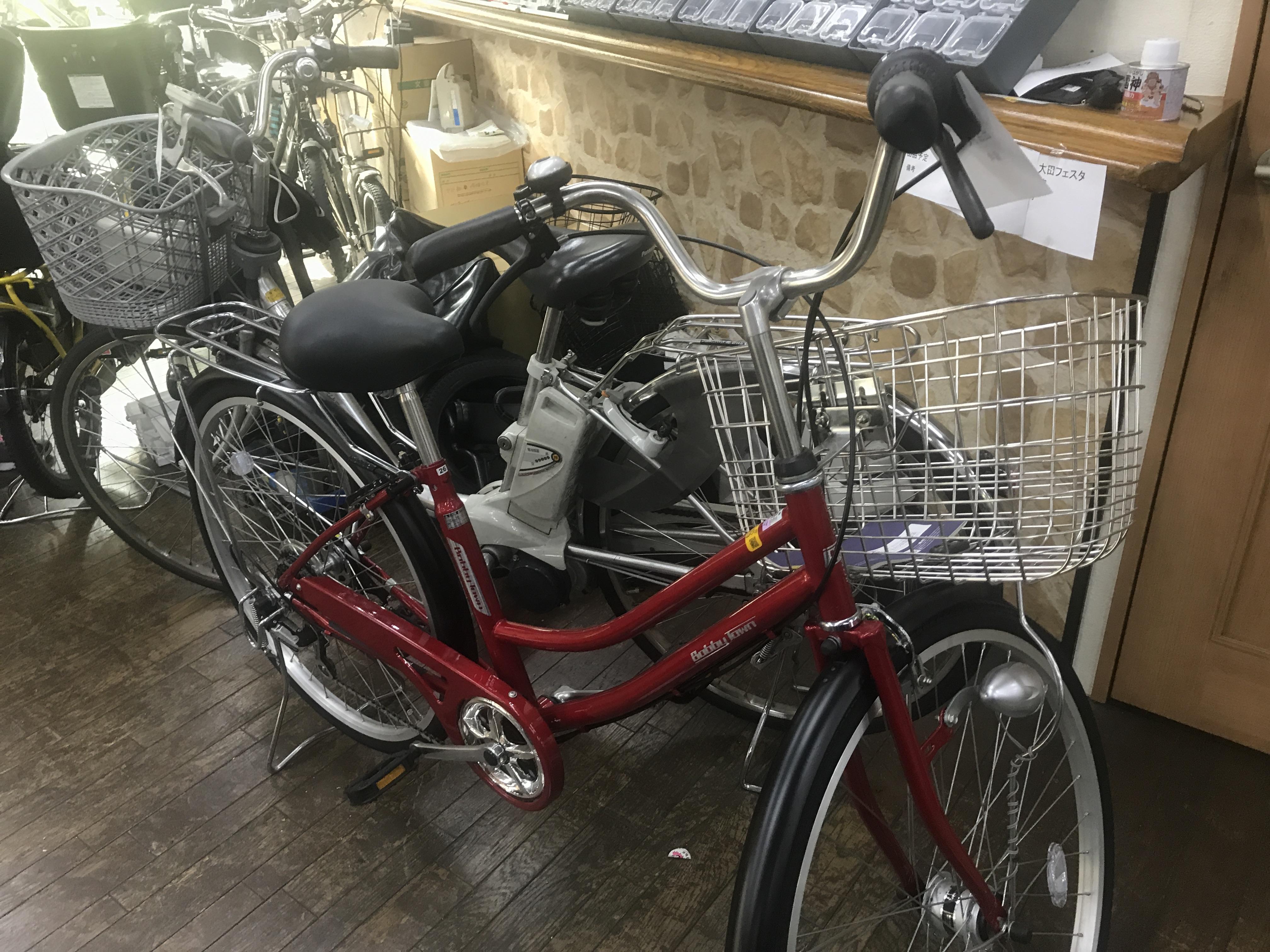 中古の普通自転車