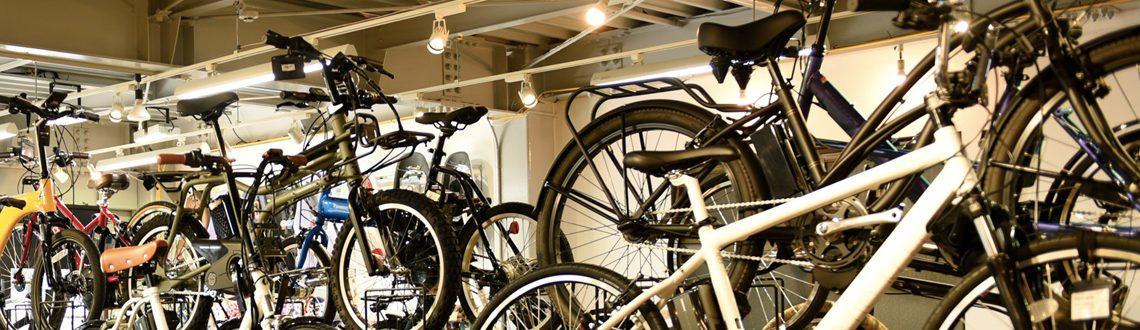 様々な電動アシスト自転車を取り扱っています