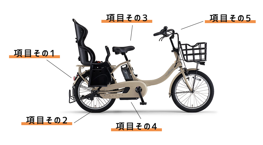 自転車修理工賃表