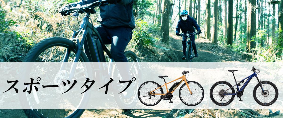 電動自転車スポーツタイプ